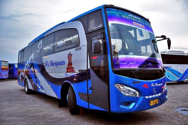 Agen Dan Harga Tiket Bus Haryanto Di Jabodetabek Dan Jawa Travel