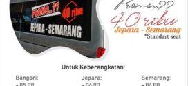 Jadwal Travel Rimba Raya Semarang Jepara Maret 2020